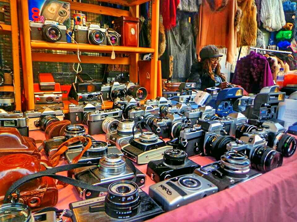 Cameras in Portobello